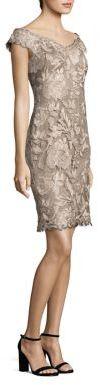 Tadashi Shoji Floral Embroidered Dress $368 thestylecure.com
