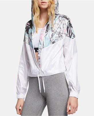 Nike Sportswear Womens Hyper Femme Printed Windrunner Cropped Jacket