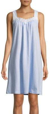 Carole Hochman Plus Striped Nightgown