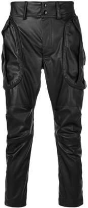 Faith Connexion faux leather trousers