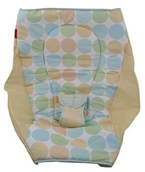 Fisher-Price Rock N' Play Sleeper Replacement Pad (BHV55 Multi Dots)