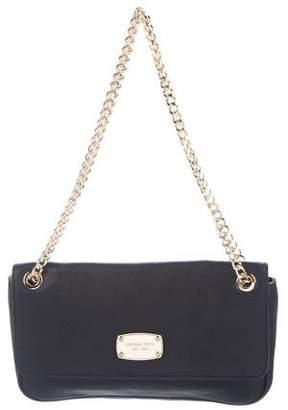MICHAEL Michael Kors Leather Flap Chain-Link Shoulder Bag