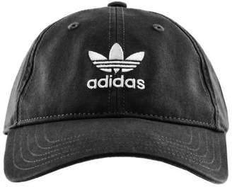 adidas Adicolor Washed Cap Black