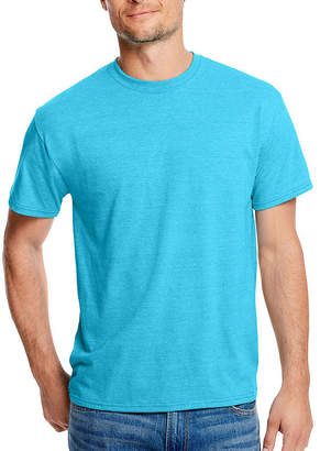 Hanes Mens Crew Neck Short Sleeve Cooling T-Shirt