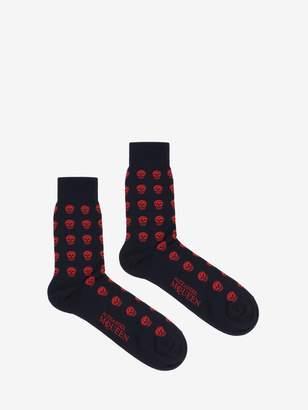 Alexander McQueen Short Skull Socks