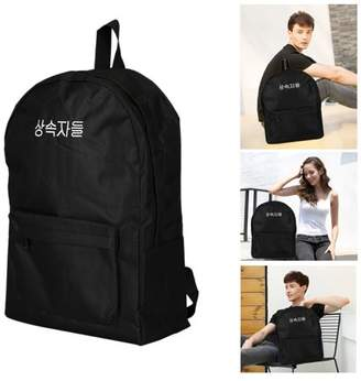 Feel Unisex Canvas Zippered Backpack Bags For Outdoor Sports Hiking Camping Day-Pack Travel Luggage Gym Bag Satchel