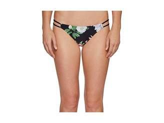 Vince Camuto Tropical Double Strap String Bikini Bottom Women's Swimwear