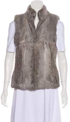 MICHAEL Michael Kors Structured Fur Vest