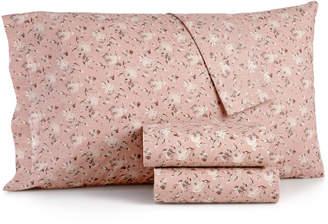 Sanders Closeout! Sanders Vintage Cotton 4-Pc. Farmhouse Floral King Sheet Set Bedding
