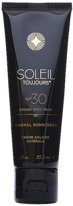 Soleil Toujours Travel 100% Mineral Sunscreen SPF 30.