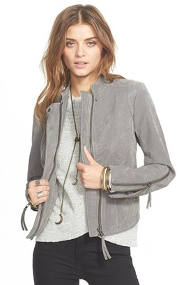 Women's Free People Faux Leather Jacket $198 thestylecure.com