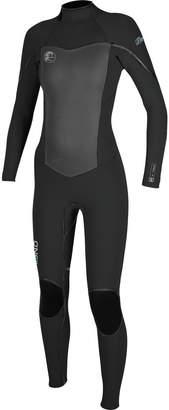 O'Neill Flair Zen Zip 3/2 Full Wetsuit - Women's