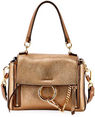 a899b84cd4c0 Chloé Faye Day Mini Metallic Satchel Bag