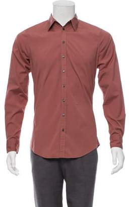 DSQUARED2 Point-Collar Woven Shirt