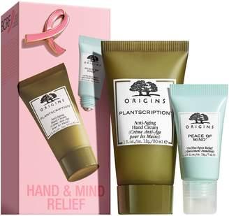 Origins Breast Cancer Awareness Hand & Mind Relief Duo