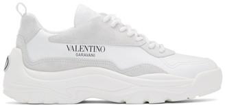 Valentino White Garavani Logo Sneakers