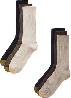 Gold Toe Men 6-Pk. Stanton Crew Socks