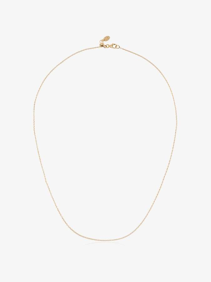 Loquet 18 inch yellow gold chain