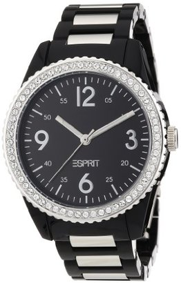 ESPRIT Women's ES105212001 Marin Disco Black Analog Watch $73.50 thestylecure.com
