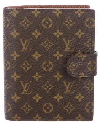 Louis Vuitton Monogram Mini Ring Agenda w/ Tags