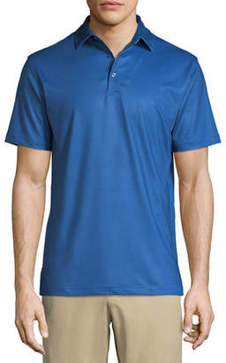 Peter Millar Men's Multi Mini Polka Dot Polo Shirt