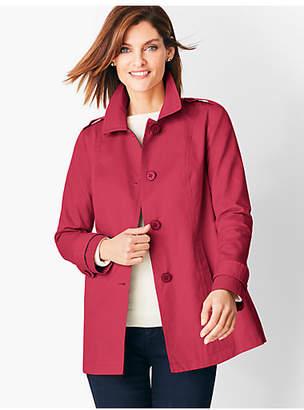Talbots Cotton Twill Coat