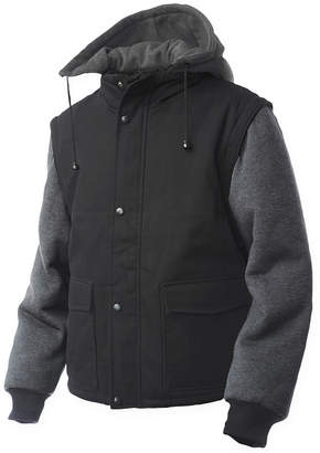 JCPenney Tough Duck Work Jacket with Zip-Off Sleeves