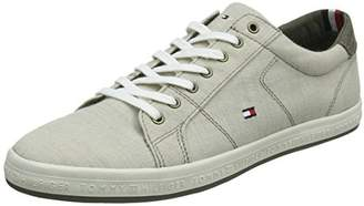 Tommy Hilfiger Men's Essential Pique Denim Low-Top Sneakers