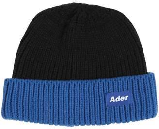 Logo Tag Wool Blend Fisherman Beanie Hat