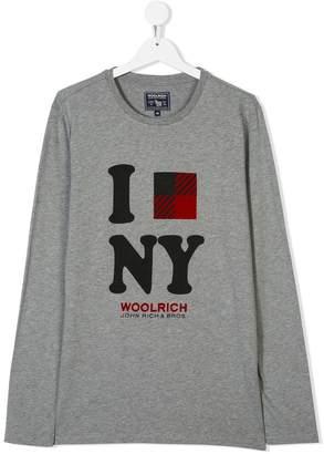 Woolrich Kids TEEN printed T-shirt