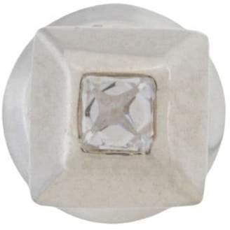 E.m. square stud earring