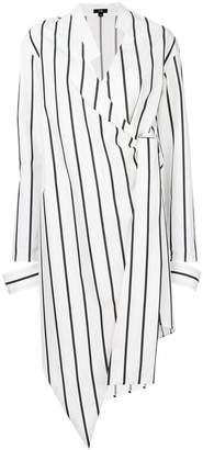 Ji Oh asymmetric shirt dress