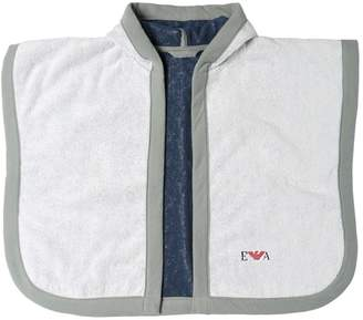 Emporio Armani Cotton Sponge Bath Robe And Manopola