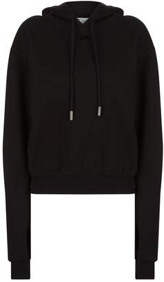 Off-White Off White Arrow Cropped Hoodie