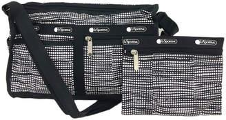 Le Sport Sac LG7519 Deluxe Zip Top Shoulder Bag