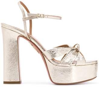Aquazzura platform sandals