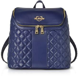 Love Moschino Quilted Eco Leather Backpack