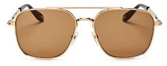 Givenchy Men's Staple Navigator Square Sunglasses, 58mm