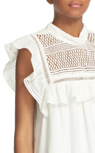 Women's Sea Baja Lace Cotton Swing Dress 2