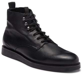H By Hudson Aldford Leather Lace-Up Boot