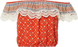 Nightcap Clothing Samba Printed Top
