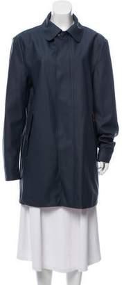 Hunter Knee-Length Water Resistant Coat