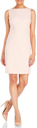 ivanka trump Frayed Woven Sheath Dress $138 thestylecure.com
