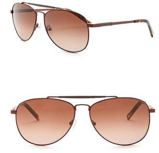 Elie Tahari 60mm Aviator Sunglasses