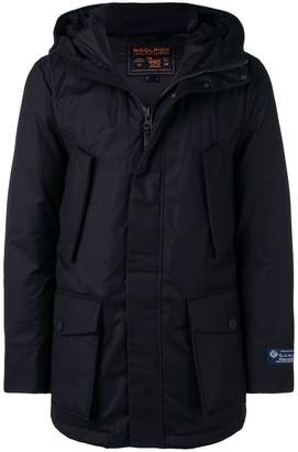 Woolrich hooded feather down jacket