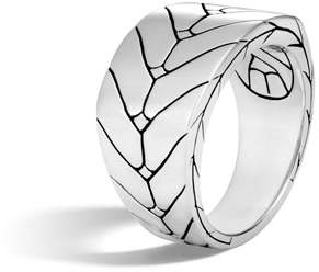 John Hardy Men's Modern Chain Sterling Silver Band Ring