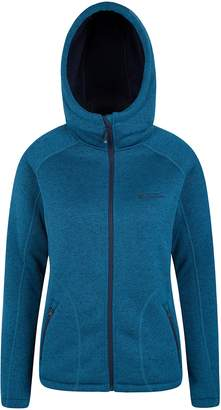 Warehouse Mountain Nevis Womens Fur Lined Hoodie - Soft, Warm & Insulating Fleece Lining with Adjustable Hood & Easy Care - Ideal Autumn Wear for Wrapping