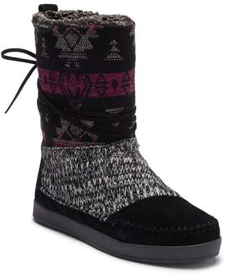 Toms Nepal Wool Trimmed Suede Boot