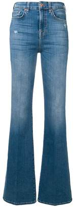 7 For All Mankind flared leg jeans