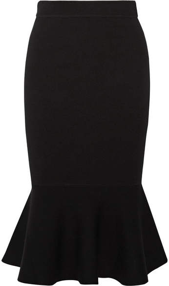 Michael Kors Collection - Stretch-knit Midi Skirt - Black